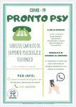 Manifesto servizio supporto psicologico