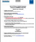 (Aggiornato al 08/01/2020) Nota informativa - Servizio affissioni e pubblicità temporanea - sostituisce la precedente