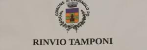 RINVIO TEST COVID (sierologico e tamponi)