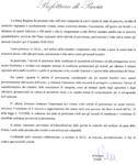 """Nota della Prefettura, oggetto """"periodo ad alto rischio incendi boschivi"""" - p2"""