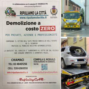 POLIZIA LOCALE INFO:RIMOZIONE VEICOLI ABBANDONATI