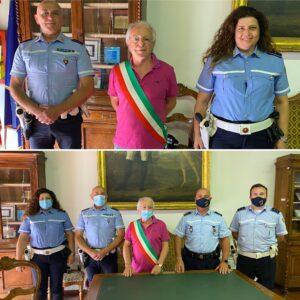 POLIZIA LOCALE INFO: Presentati stamane due nuovi operatori di Polizia Locale