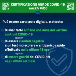 POLIZIA LOCALE INFO: Certificazioni verdi Covid-19 (Green Pass)
