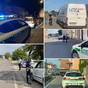 POLIZIA LOCALE INFO: Proseguono i controlli nelle aree urbane