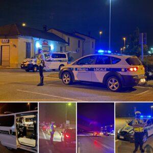 POLIZIA LOCALE INFO: Notte di controlli per fermare chi guida sotto l'effetto dell'alcol