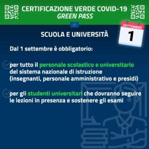 POLIZIA LOCALE INFO:Certificazioni verdi Covid-19 (Green Pass)